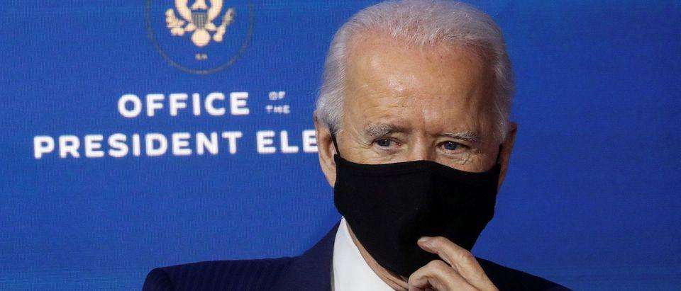 U.S. President-elect Joe Biden announces members of his economic policy team in Wilmington, Delaware