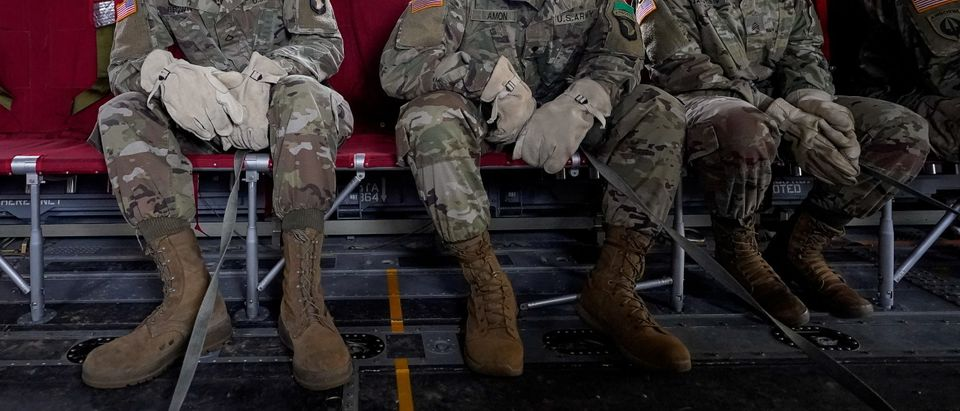 U.S. Army Soldiers train while adhering to coronavirus disease (COVID-19) recommendations