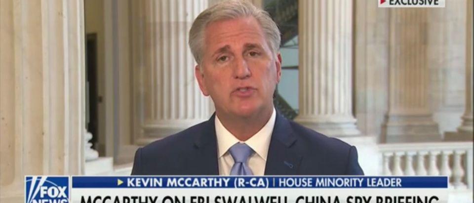 House Minority Leader Kevin McCarthy (R-CA)