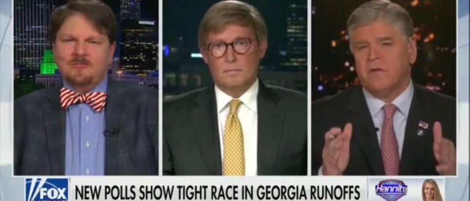 Robert Cahaly, Matt Towery and Sean Hannity