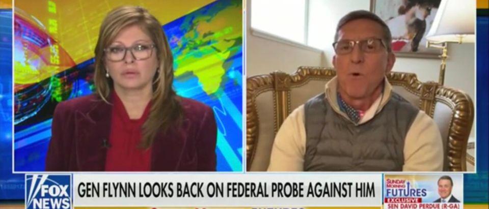 Maria Bartiroma interviews former National Security Advisor Michael Flynn