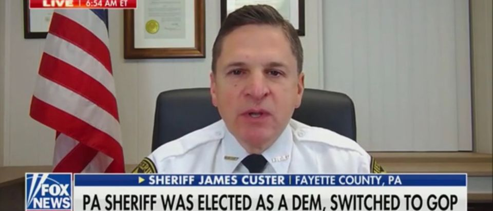 Pennsylvania Sheriff James Custer