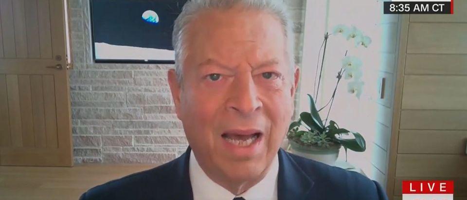 Al Gore slaps Republicans still supporting Trump reelection bid (CNN screengrab)