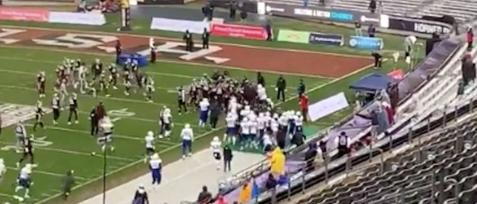 Brawl At Armed Forces Bowl