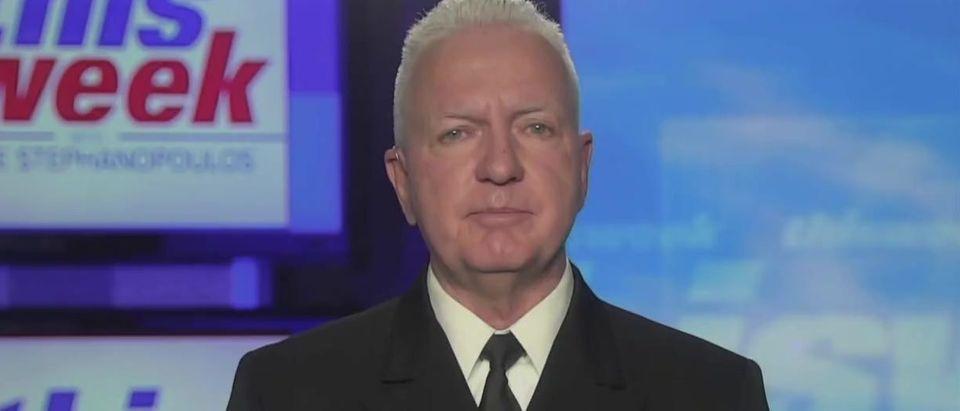 Brett Giroir encourages Trump to take vaccine (ABC screengrab)