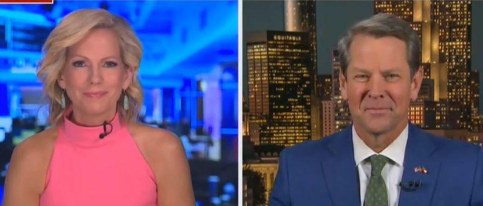 Brian Kemp responds to Trump attacks (Fox News screengrab)