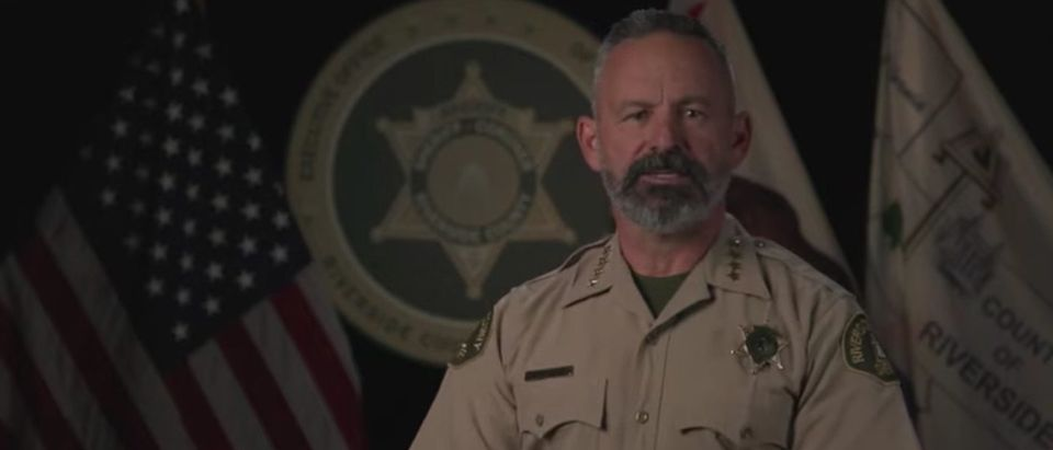 YouTube screenshot/Riverside County Sheriff's Department