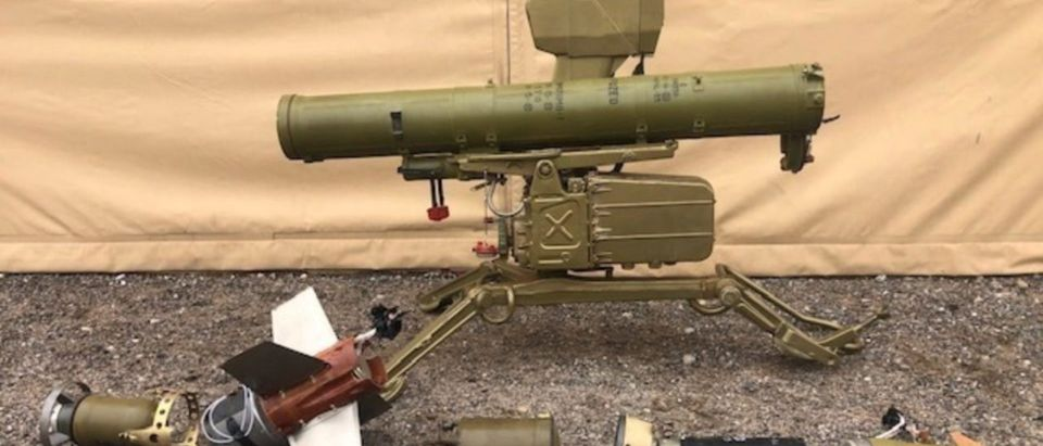U.S. Marines exploit captured anti-armor missile system from Syria