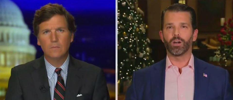 Donald Trump Jr. discusses importance of Georgia runoffs (Fox News screengrab)