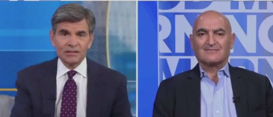Dr. Slaoui on Good Morning America - ABC News Screenshot