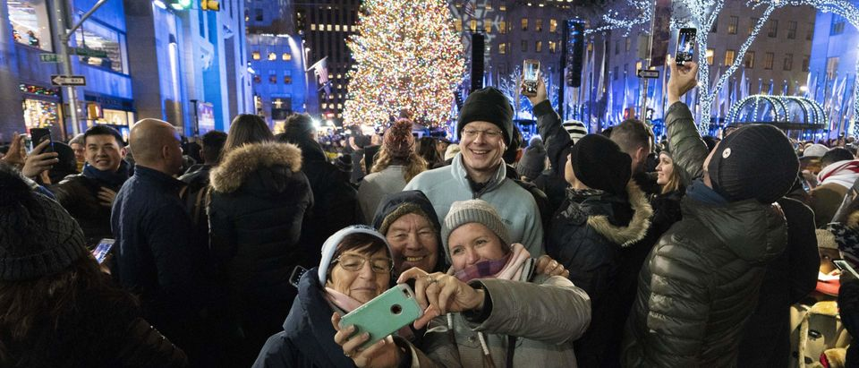 US-LIFESTYLE-HOLIDAY-CHRISTMAS