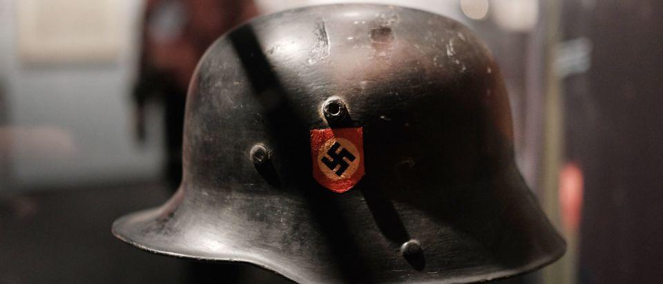 Nazi Helmet In Museum