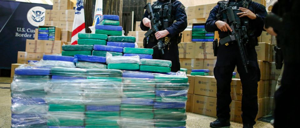 Federal Government Officials Announce Large Cocaine Seizure For Philadelphia Port