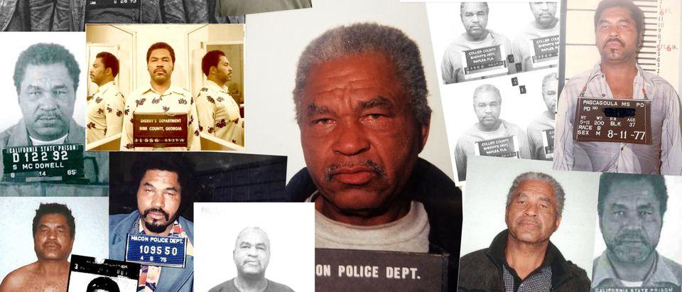 Booking Photos Of Serial Killer Samuel Little