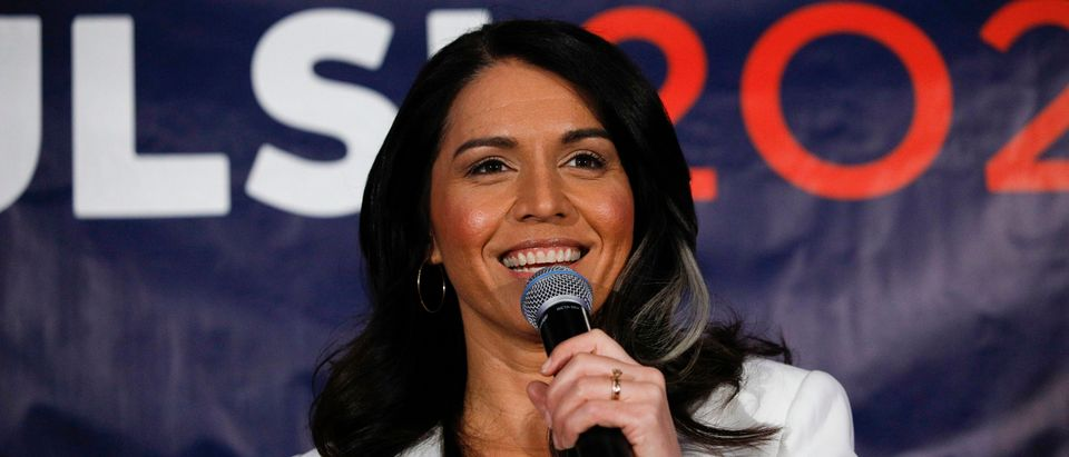 Democratic Presidential Candidate Tulsi Gabbard Holds Super Tuesday Primary Night Event In Detroit