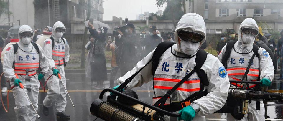 TAIWAN-CHINA-HEALTH-VIRUS