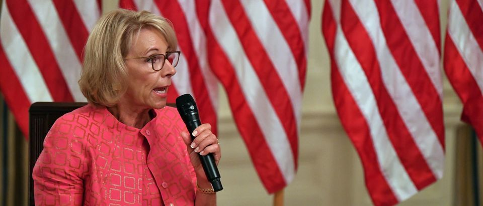 Betsy DeVos Tells Education Employees To Keep Focus On Students During Biden Transition