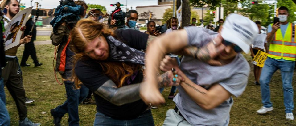 TOPSHOT-US-POLITICS-RACISM-PROTEST