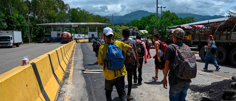 HONDURAS-GUATEMALA-US-MIGRATION-CARAVAN