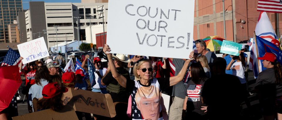 Votes Continue To Be Counted As Presidential Race In Arizona Tightens