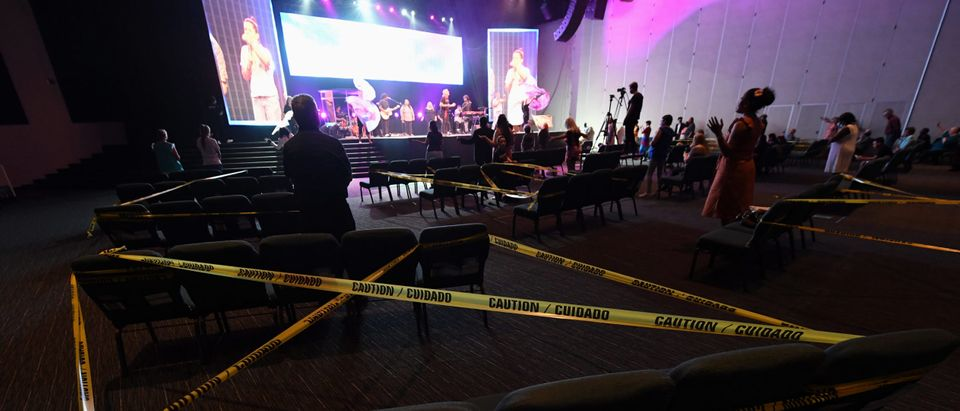 Houses Of Worship Reopen In Las Vegas Amid COVID-19 Pandemic