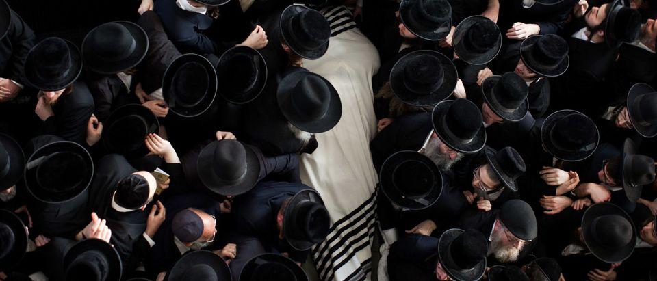 Funeral Held For Rabbi Abraham Jacob Friedman of Sadigura Hasidic Dynasty