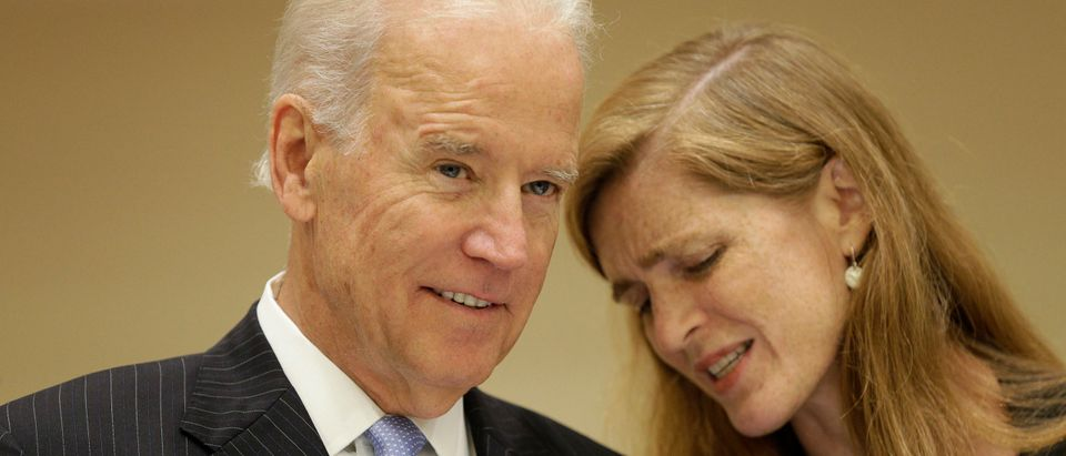 Vice President Biden Meets With World Leaders In New York During The UN General Assembly