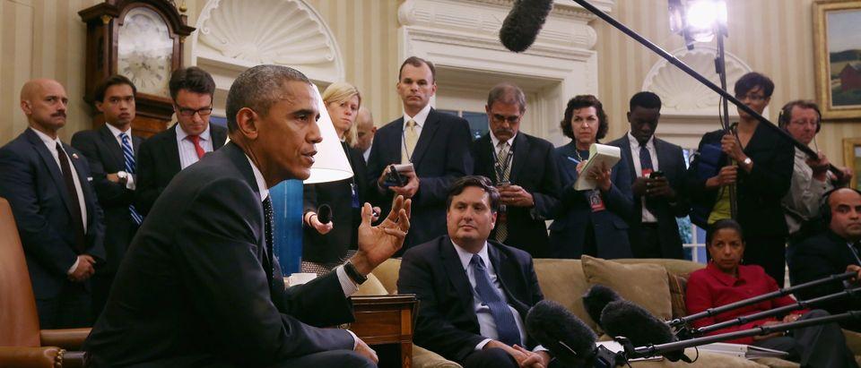 Obama Meets With Ebola Response Coordinator Ron Klain At White House