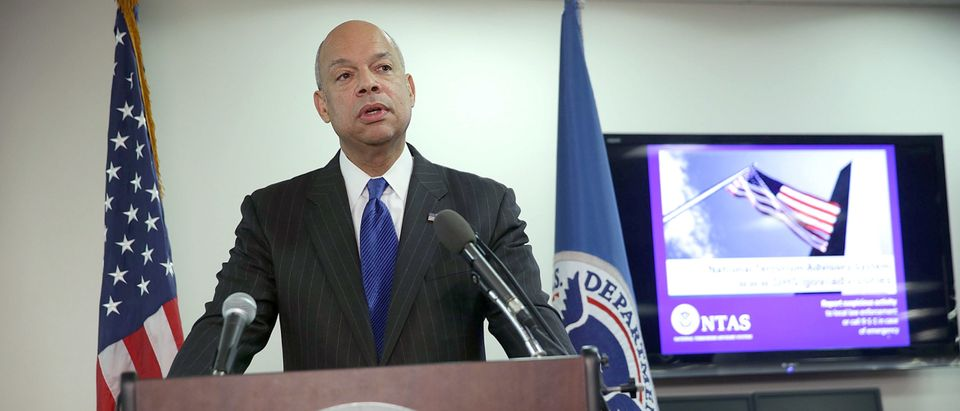 Homeland Security Jeh Johnson Discusses Updates To The National Terrorism Advisory System