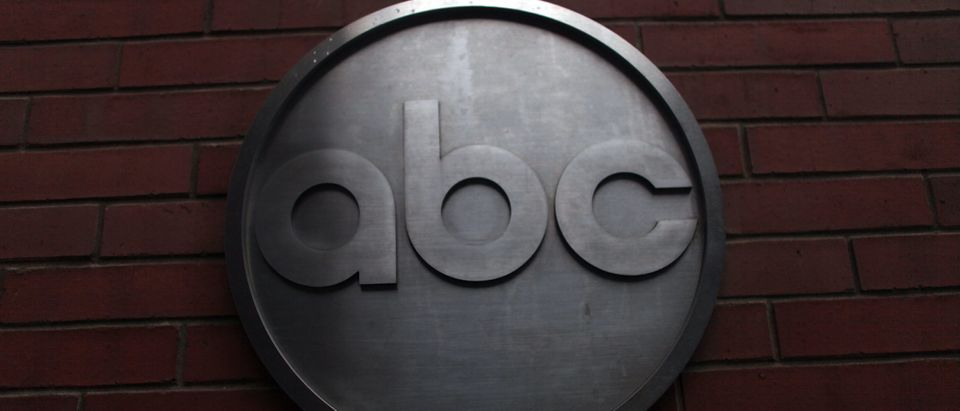 The ABC logo is viewed outside of ABC headquarters February 24, 2010 in New York, New York. (Spencer Platt/Getty Images)