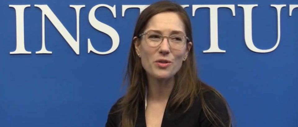 Heather Boushey (Screenshot/Youtube/Aspen Institute)