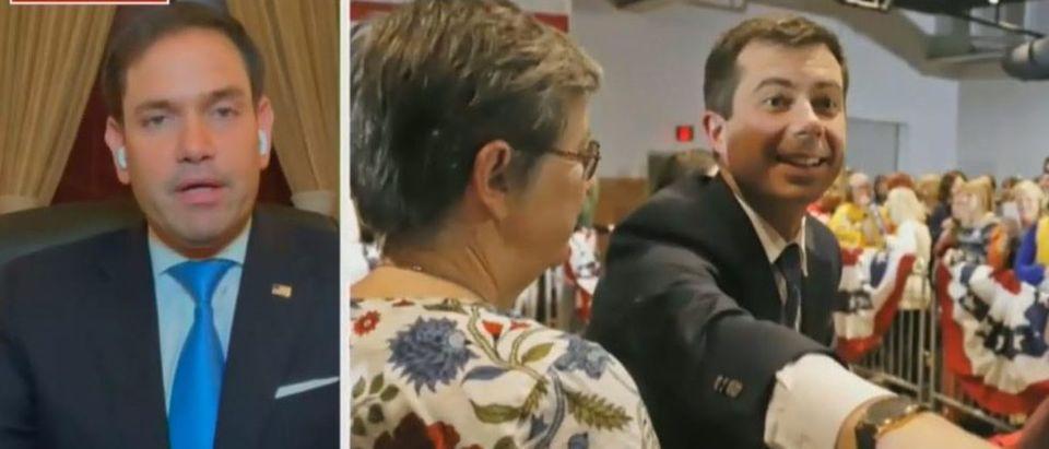 Marco Rubio pans potential Buttigieg pick (Fox News screengrab)