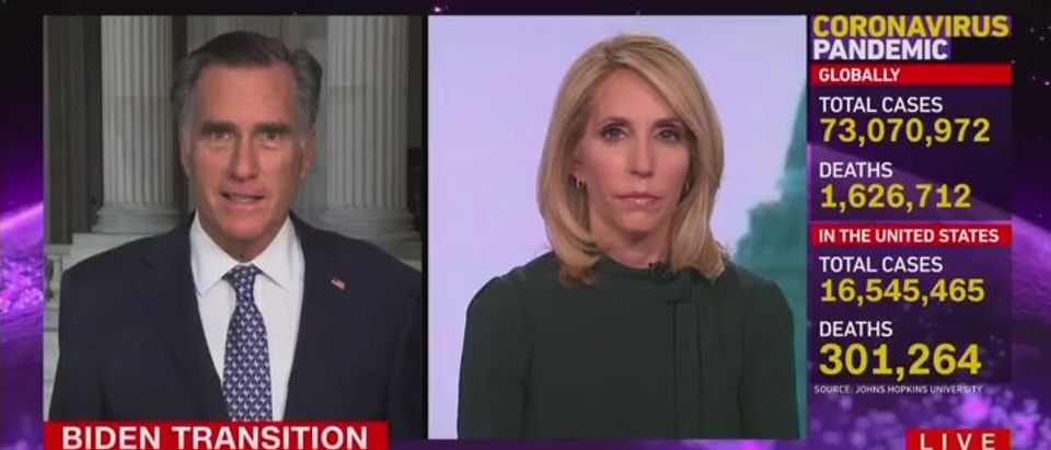 Mitt Romney laments Trump's continued influence on GOP (CNN screengrab)
