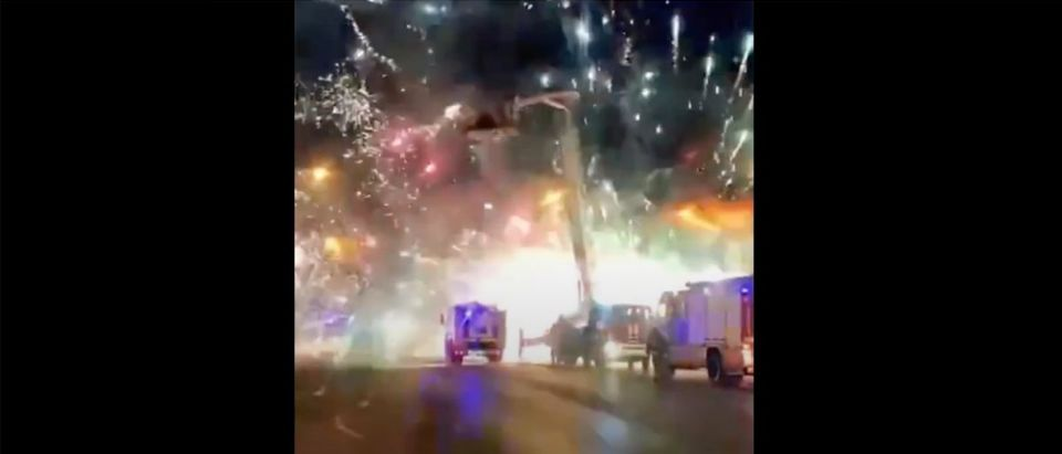 Russia Fireworks (Credit: Screenshot/YouTube https://www.youtube.com/watch?v=PBNri6EwpS4&feature=youtu.be)
