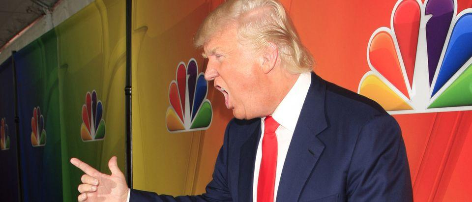 Donald Trump at the NBCUNIVERSAL 2015 Winter TCA Press Tour at The Langham Huntington Hotel on January 16, 2015 in Pasadena, CA