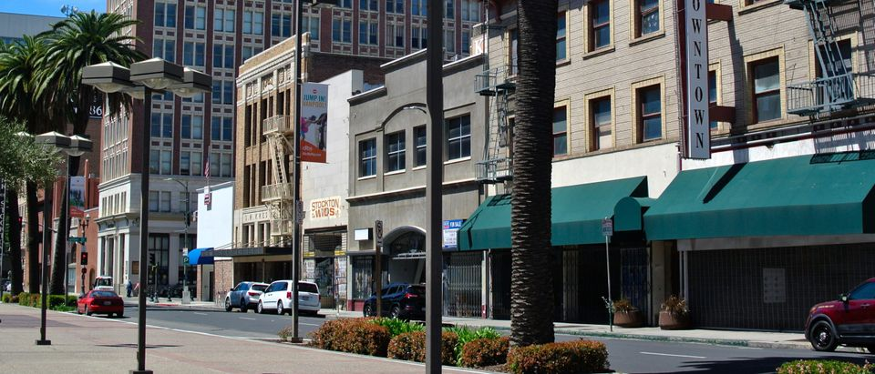 Stockton, California By Todd A. Merport. Shutterstock.