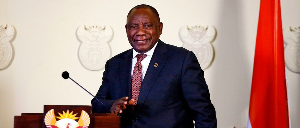 South African President Cyril Ramaphosa Announced New COVID-19 Restrictions.