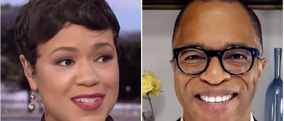 Tiffany Cross and Jonathan Capehart will host their own weekend shows on MSNBC. (Screenshot YouTube MSNBC, Screenshot YouTube MSNBC)