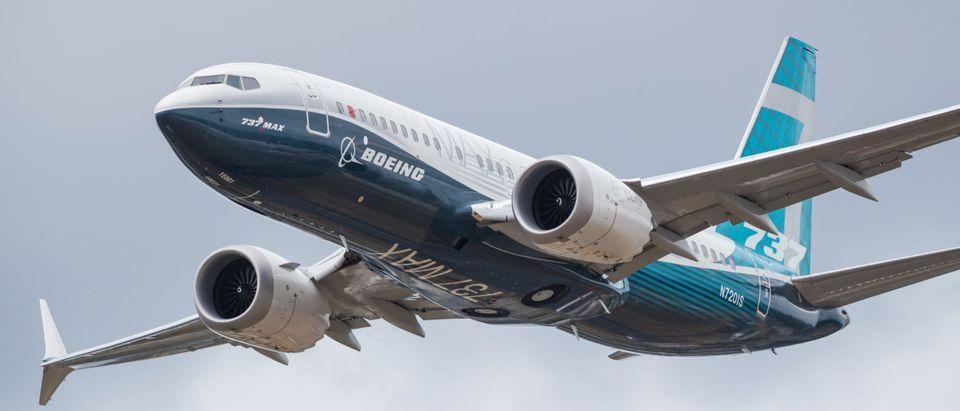 Boeing 737 MAX Airplane
