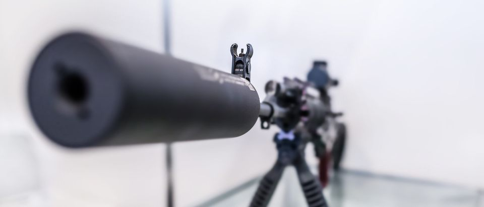 Assault Rifle Suppressor