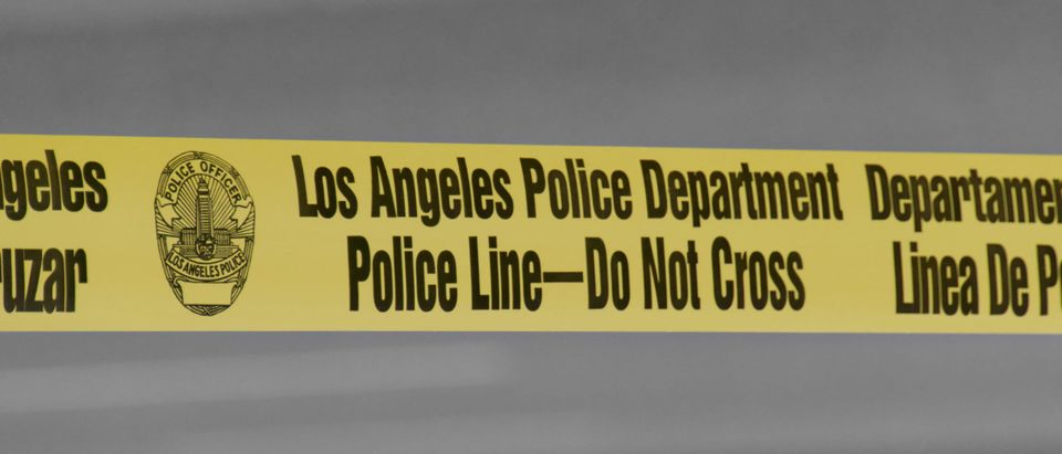 Los Angeles Police Department Police Line
