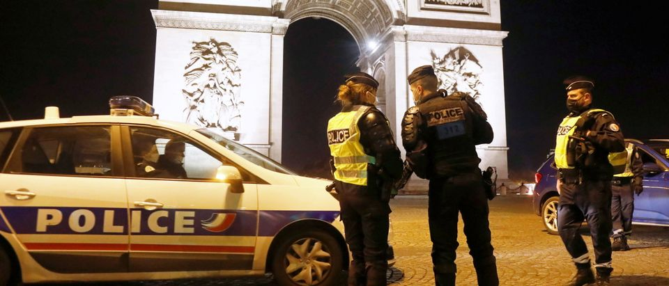 New Year's Eve amid COVID-19 restrictions, in Paris