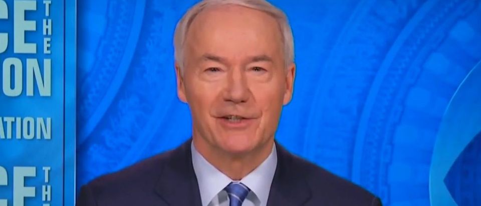 Asa Hutchinson pans GOP efforts to contest Biden win (CBS screengrab)