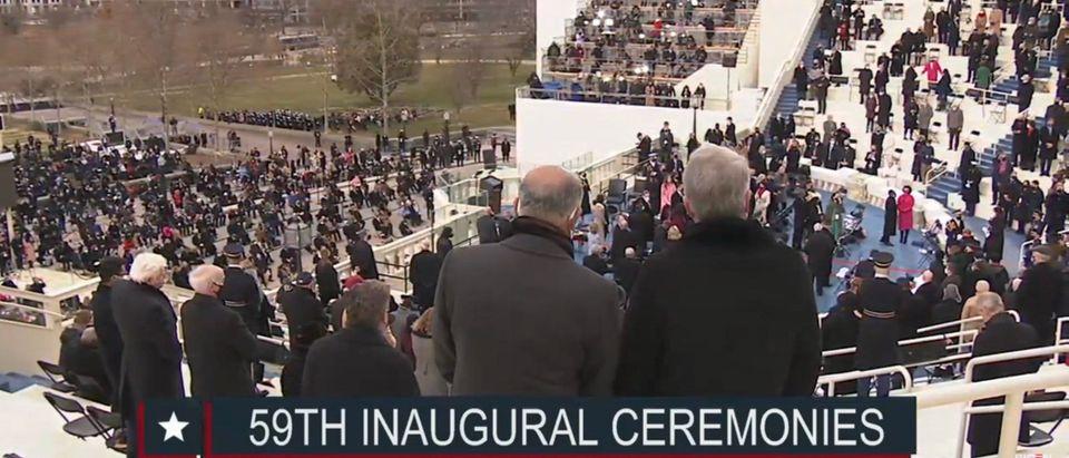 Joe Biden's inauguration. (Screenshot/YouTube/Joe Biden)