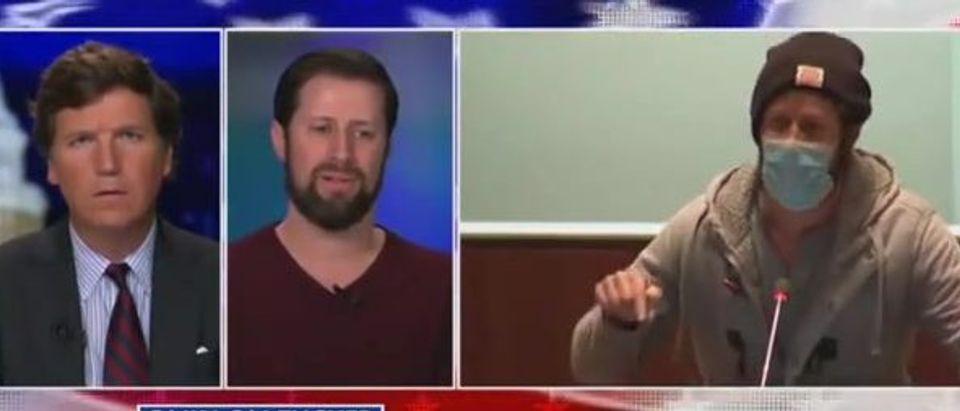 Brandon Michon speaks out (Fox News screengrab)