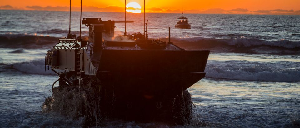 Marines take ACV out for low-light tests
