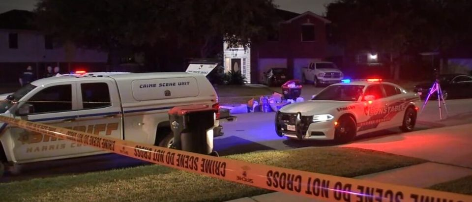 48-year-old father shot and killed by stray bullet at NW Harris Co. home (Screenshot/ABC 13 News)