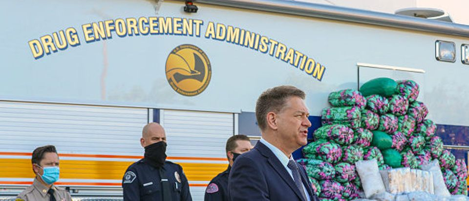 Drug Enforcement Administration acting Administrator Timothy J. Shea. By Irfan Khan. Getty.