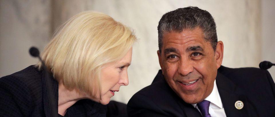 Democratic Senators Speak About Their Legislative Agenda To A Meeting Of Al Sharpton's National Action Network