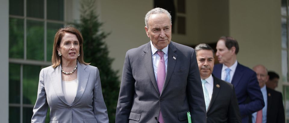President Donald Trump Meets With Speaker Pelosi And Senate Leader Schumer To Discuss Infrastructure